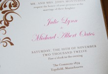Invitation detail
